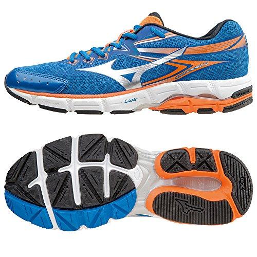 Mizuno Wave Connect 2, Chaussures de Running Entrainement homme blue