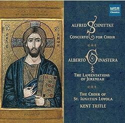 Choir Music By Ginastera & Schnittke