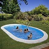 GRE Madagascar KPEOV6059 Pool, Stahl, oval