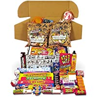 Best Retro Sweets Cartoon Box Selection, Packed Full Of Mouthwatering Old-Fashioned Sweets from Your Childhood Sweetshop…