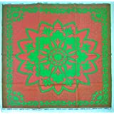 Alpha Big (6 X 6 Ft), Reversible Plastic Mat/Chatai/Chataee/Chataai, for Home, Kids Play, Living Room, Garden, Bedroom Floor: Double Bed Size