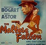 ODSAN The Maltese Falcon, Humphrey Bogart, Mary Astor, Gladys George, Peter Lorre. 1941 - Premium-Filmplakat Reprint 28x