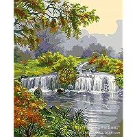 DH Murals impresión de Arte Lienzo Pintura al óleo Hecha a Mano Pintada a Mano de la Pintura al óleo del Paisaje Pintura Decorativa