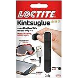 Loctite Kintsuglue, masilla flexible negra para reparar, reconstruir y proteger objetos, masilla adhesiva moldeable, adhesivo