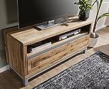 Lowboard TV Element 120cm 'Trient' Wildeiche geölt massiv Holz Eiche