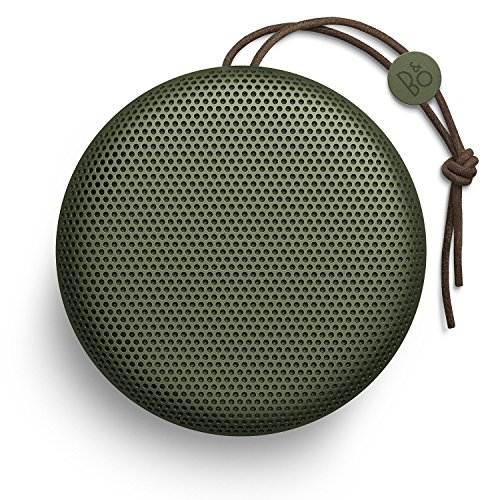 BeoPlay Portable Wireless Bluetooth Speakers - B&O BeoPlay A1 Portable Wireless Bluetooth Speakers with Mic, Green
