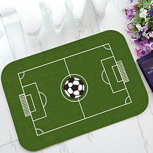 Custom Soccer Field Football Pitch Door Mats Cover...