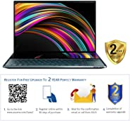 Asus ZenBook Pro Duo UX581GV-H2001TS  Laptop (Celestial Blue)- Intel i9-9980HK 5.0 GHz, 32GB RAM, 1TB SSD, Nvidia GeForce RT