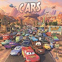 #10 Coloring Book Cars: Best Seller, Anxiety and Stress Relief, Adult Relaxation