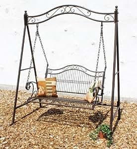 balan oire 082505 balancelle en m tal fer forg balan oire jardin. Black Bedroom Furniture Sets. Home Design Ideas