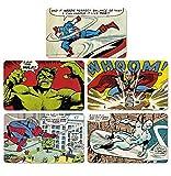 Marvel Comics Frühstücksbrettchen Set - fünf Frühstücksbrettchen im Set - Lizenziertes Originaldesign - LOGOSHIRT