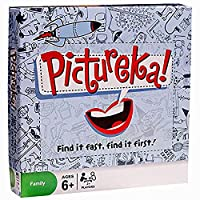 Pictureka Games Eye Sight Challenging Pictureka Board Game Children Toy 105 Cards Family Game English Version