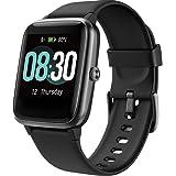 UMIDIGI Smartwatch Fitness Tracker Horloge Uwatch3, Smart Watch Dames Heren Kinderen Pols Hartslagmeter Stappenteller Sport A
