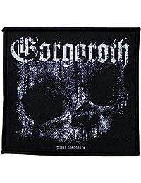 Parche de tela con diseño de Gorgoroth Quantos, 10 x 9,5 cm