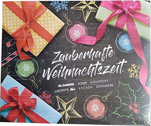 Davidoff Adventskalender - Zauberhafte Weihnachtszeit - Damen - Luxus - Beauty - Pflege - Jill Sander - - Escada - Lacoste - 24 x Luxusprodukte
