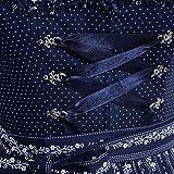 Almsach Damen Trachten-Mode Price Midi Dirndl Bine in Dunkelblau traditionell, Größe:46, Farbe:Dunkelblau Vergleich