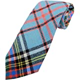 Boys 100% Wool Tartan Neck Tie, Available in a Selection of Tartans
