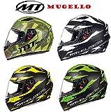 Die besten Full Face Motorradhelme - MT Helm Mugello Vapor matt schwarz fluo gelb Bewertungen