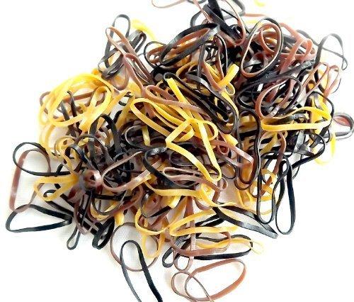 cyberloxshop-mini-haargummis-polyurethan-braun-250-stuck