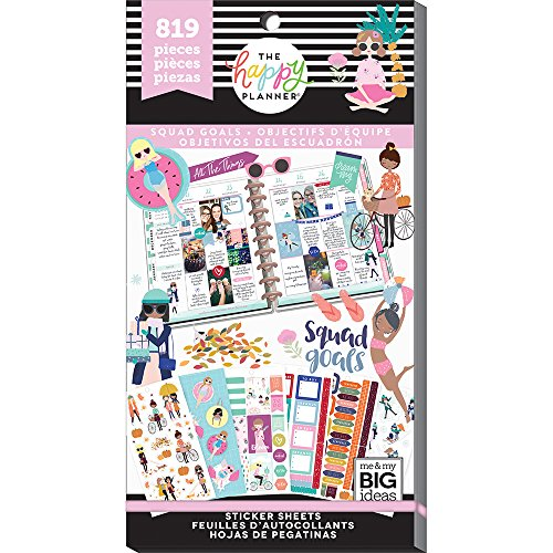 Me & my BIG ideas PPSV-74-3048 The Happy Planner Sticker Squad Goals