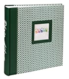 Elements Fotoalbum in 30x30 cm 100 weiße Seiten Jumbo Buchalbum Foto Album: Farbe: Grün