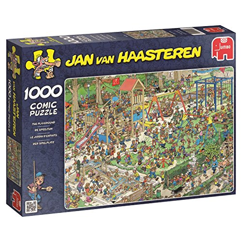 Jumbo - Puzzle The Playground, 1000 Piezas (01599)