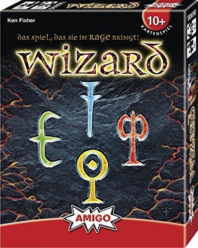 Amigo 6900 - Wizard, Kartenspiel (Bestes Brettspiel Für Kinder)