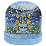 Manchester City FC Official Football Crest Stadium Snow Globe/Dome