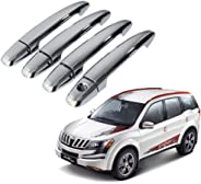 Auto Pearl - Chrome Door Handle Latch Cover - Xuv500