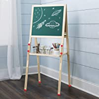 Tableau magnétique pour enfant réglable en hauteur Tableau Enfants Double Face Chevalet Multifonctions Chevalet debout…