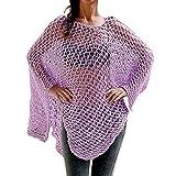 TWIFER Damen Vertuschen Bikini Badeanzug Bademode Crochet Smock Beach Vertuschen Sonnenschutz Shirt