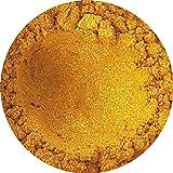 Goldfarbenes Glimmerpulver für Anwendung in der Kosmetik (Seifen, Lidschatten, Badekugeln) 50 g