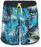 NAME IT Jungen Badeshorts NKMZIELS Long Shorts, Blau Dark Sapphire, 128
