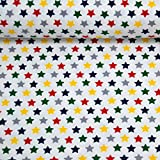 MAGAM-Stoffe ''Warm Stars'' in 3 Farben | Jersey-Stoff