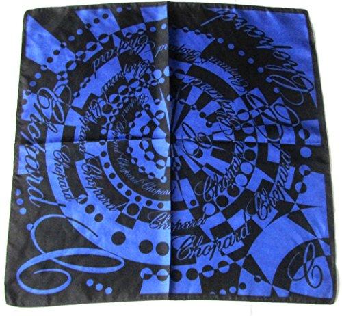 chopard-nickytuch-blau-schwarz-48-x-47cm-seidentuch