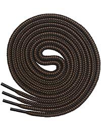 Cordones Redondos para Botas Miscly [3 Pares] Cordones Reforzados y Duraderos para Botas, Calzado de Seguridad…