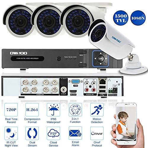 OWSOO 8CH CCTV Sorveglianza DVR Sistema di