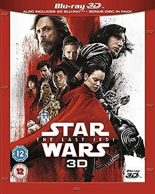 Star Wars: The Last Jedi [Blu-ray 3D] [2017]