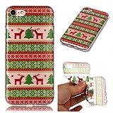 iphone 7 Coffeetreehouse Coque Série de cadeaux de Noël souple transparente avec impression de qualité pour iphone 7 - YH5