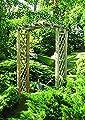 G&C Arkadenpergola – Gartendekoration und Kletterpflanzen Unterstützung – Holz imprägniert – Maße: h260 x 180 x 90 cm von Jagram bei Gartenmöbel von Du und Dein Garten