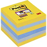 Post-it Super Sticky Notes New York Colores, 6 blocs 76 mm x 76 mm