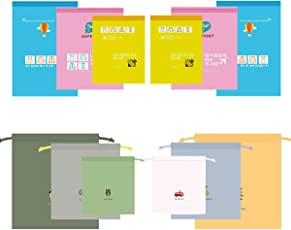 LZYMSZ Vakuumspeicher Taschen Rollen Oben Raum-Retter-Taschen, Kompressions Reise Aufbewahrungsbeutel, Wasserdichte Kleidungs Beutel Zugschnur Taschen Schmutzige