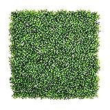 Lot de 6panneaux de feuilles de lierre artificielles pour décoration d'extérieur, de murs ou de clôtures 51x 51cm 50cmx50cm A036