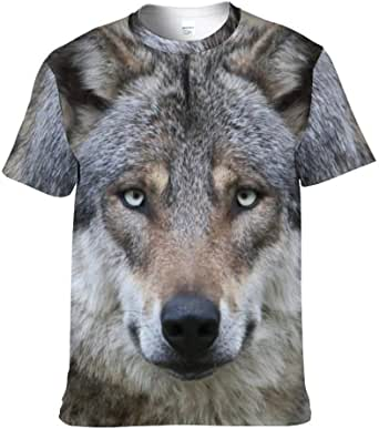Men's T-Shirt, 3D Beagle T- Shirt Summer Casual Short Sleeve Tee Shirts.