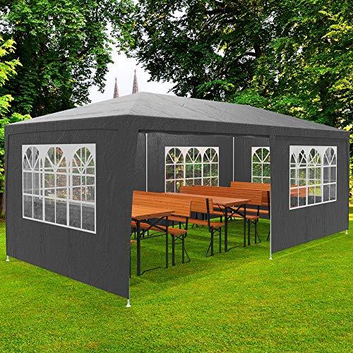 Hengda 3x9m Gazebo da giardino Stabile Garden Pavilion Tenda da giardino Padiglione tenda della birra