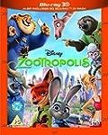 Zootropolis [Blu-ray 3D + Blu-ray] [2...
