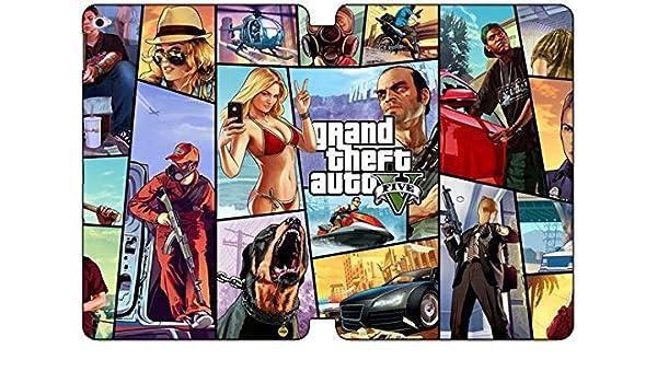 iPad Air 2 Case Cover,[Ultra Slim Folio] Grand Theft Auto