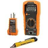 (الإصدار الأصلي) - مجموعة اختبار كهربائية مع مقياس متعدد، اختبار الجهد غير الاتصال واختبار مخرج المقبس أدوات كلاين 69149