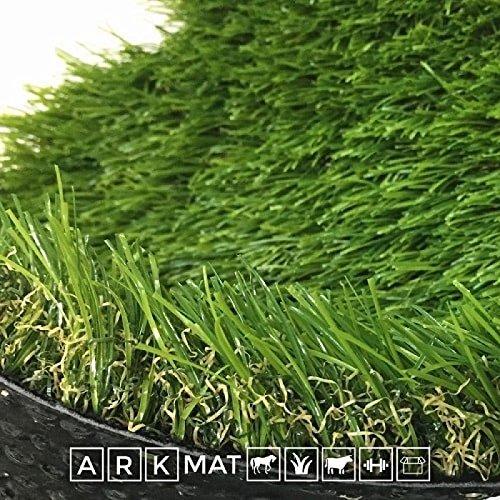ARKMat Aintree Erba Sintetica Altezza 4 cm Misura 2 x 5 Metri Doppio Colore Effetto Reale Drenante e Resistente Raggi UV
