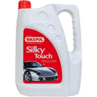Waxpol Silky Touch Liquid Wax Polish (for High Gloss & Hydrophobic Protection) 4 LTR.